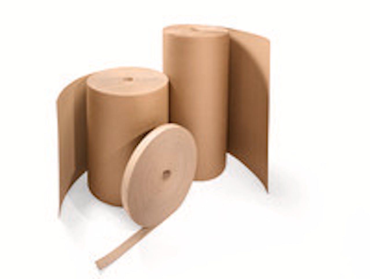 Polster-Pappe Flexipack auf der Rolle