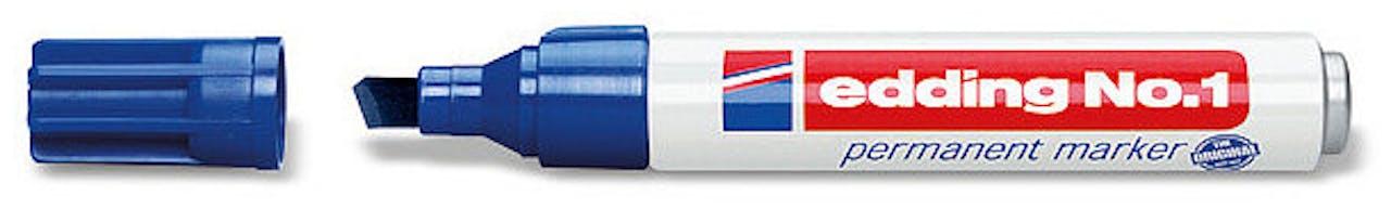edding® Permanentmarker blau
