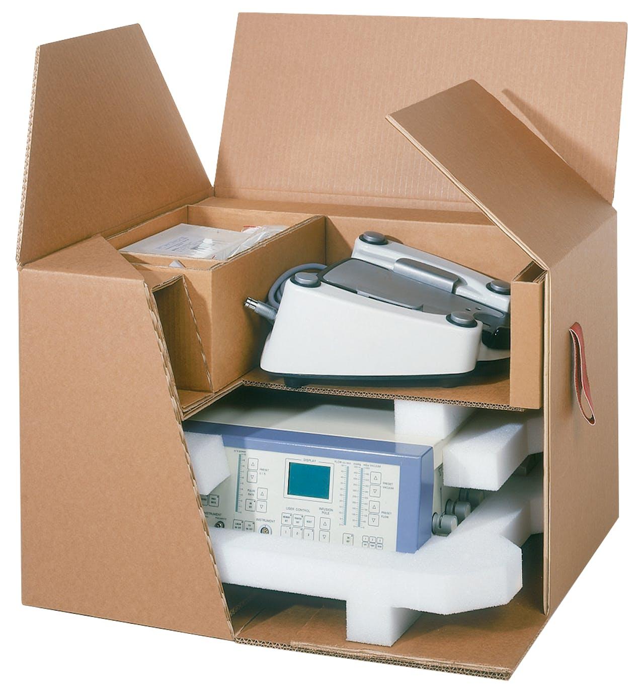 Formteile, individuelle Verpackung im Karton
