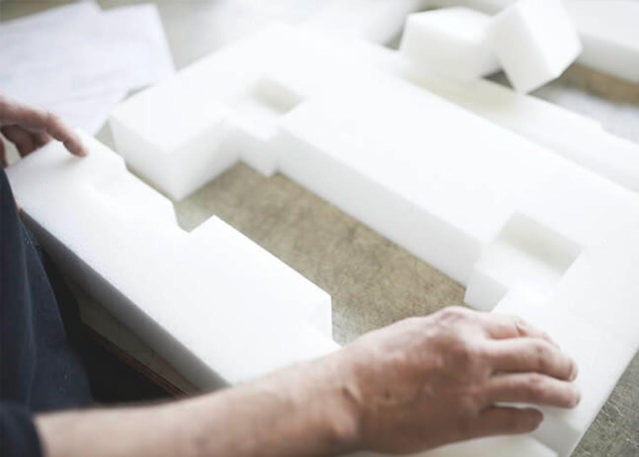 Formteile Kunststoff Schaum