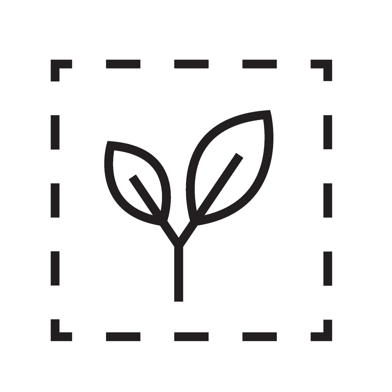 Icon kompostierbar