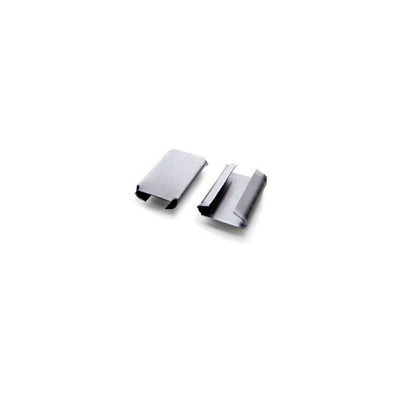 Verschlusshülsen für Stahl-Umreifungsbänder