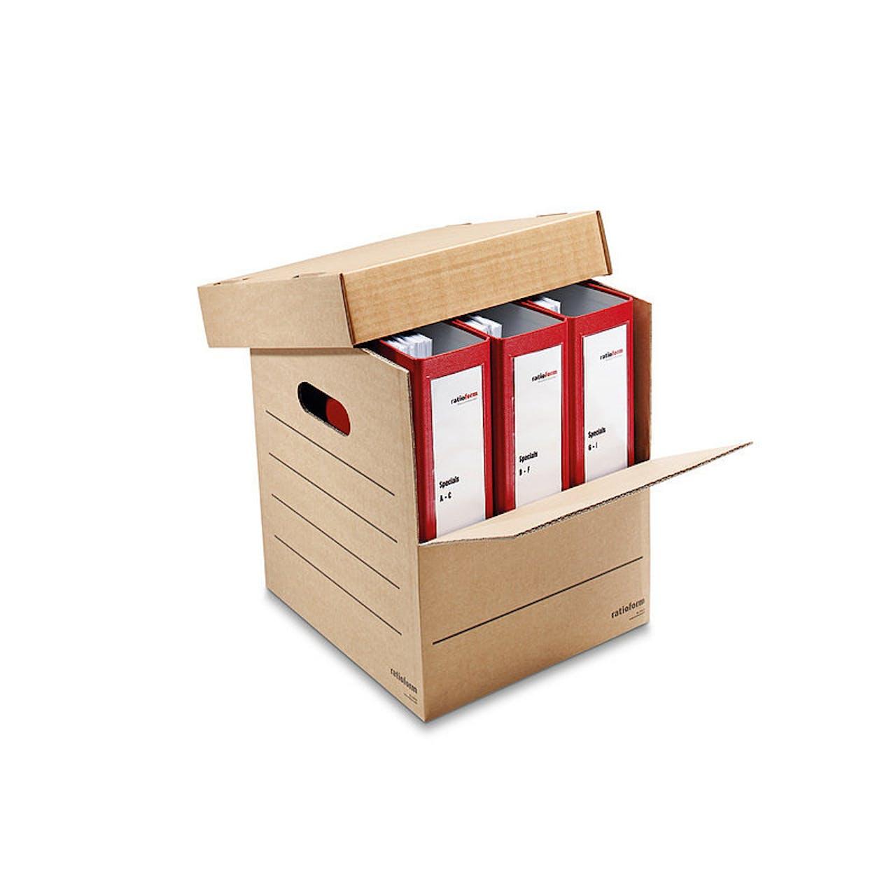 Ordner-Karton für 3–8 breite Ordner