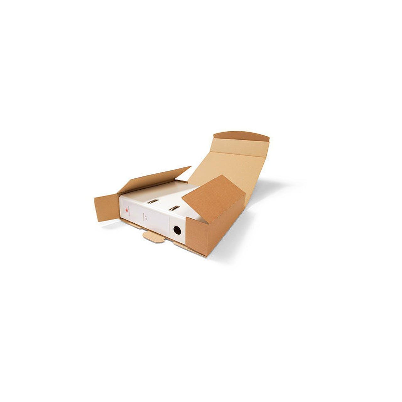 Ordner-Pack, mit Steckverschluss