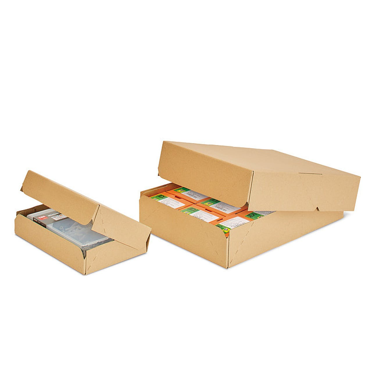 Kommissionierkarton, klein, 353 x 250 x 75 mm