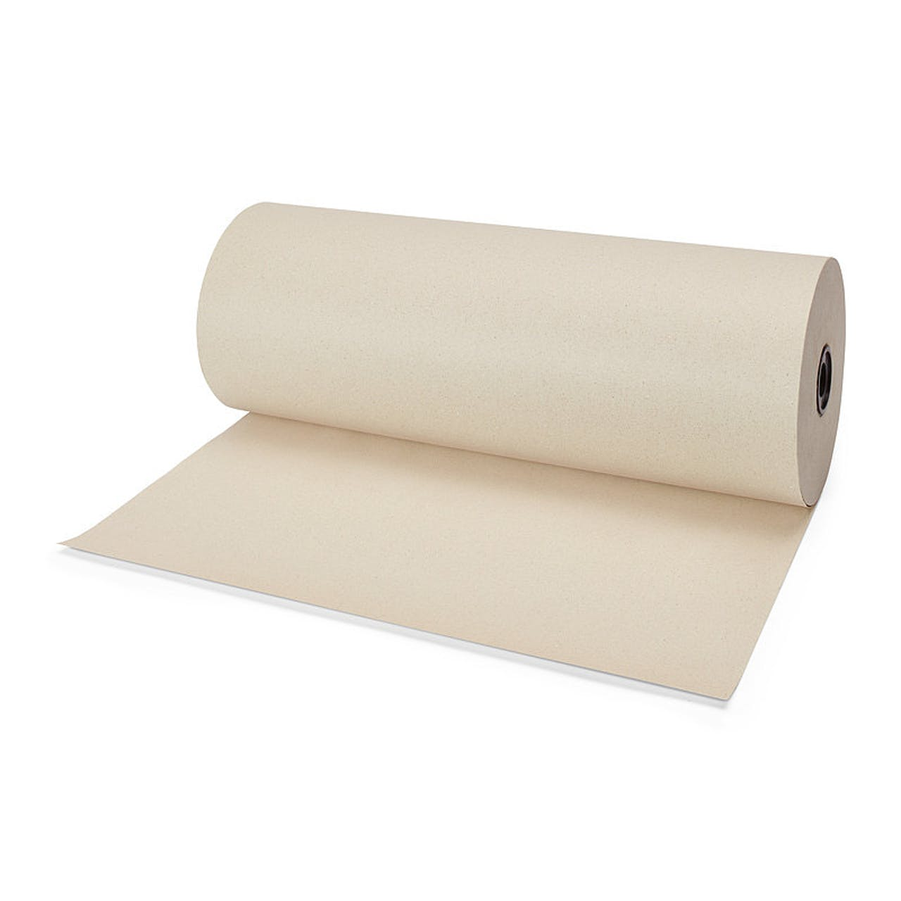 Graspapier-Packpapier auf der Rolle