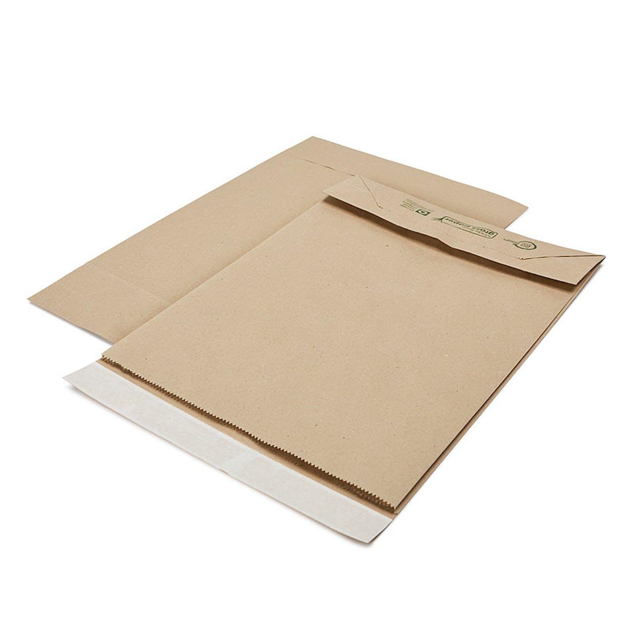 Graspapier-Faltentasche