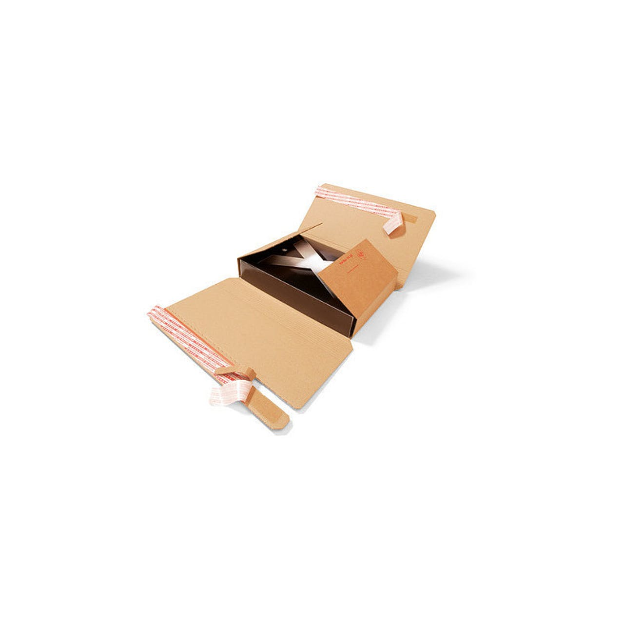 Buchverpackung, 2-wellig, 320 x 455 mm, DIN A3, Füllhöhe 10–110 mm