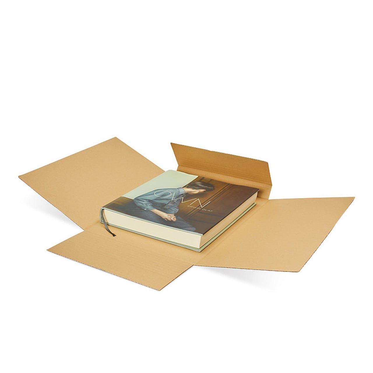 Universalverpackung, DIN A5, braun, 155 x 220 mm, max. Füllhöhe 80 mm