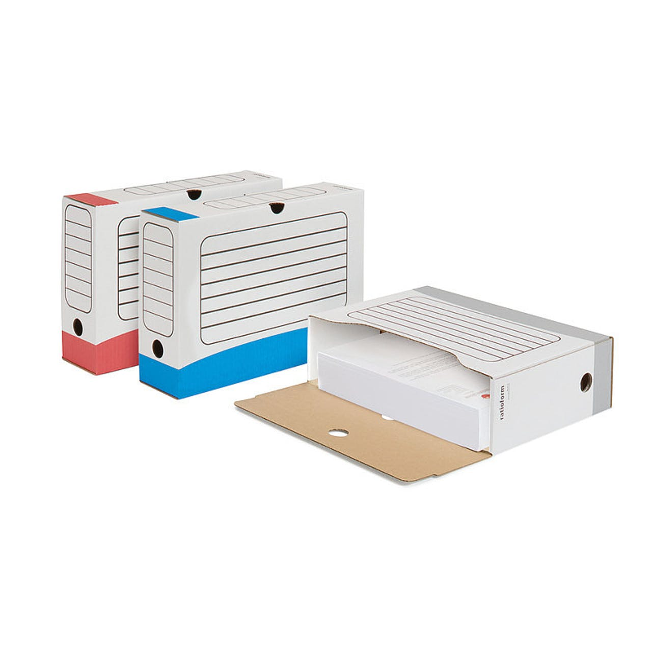 Archiv-Box farbig