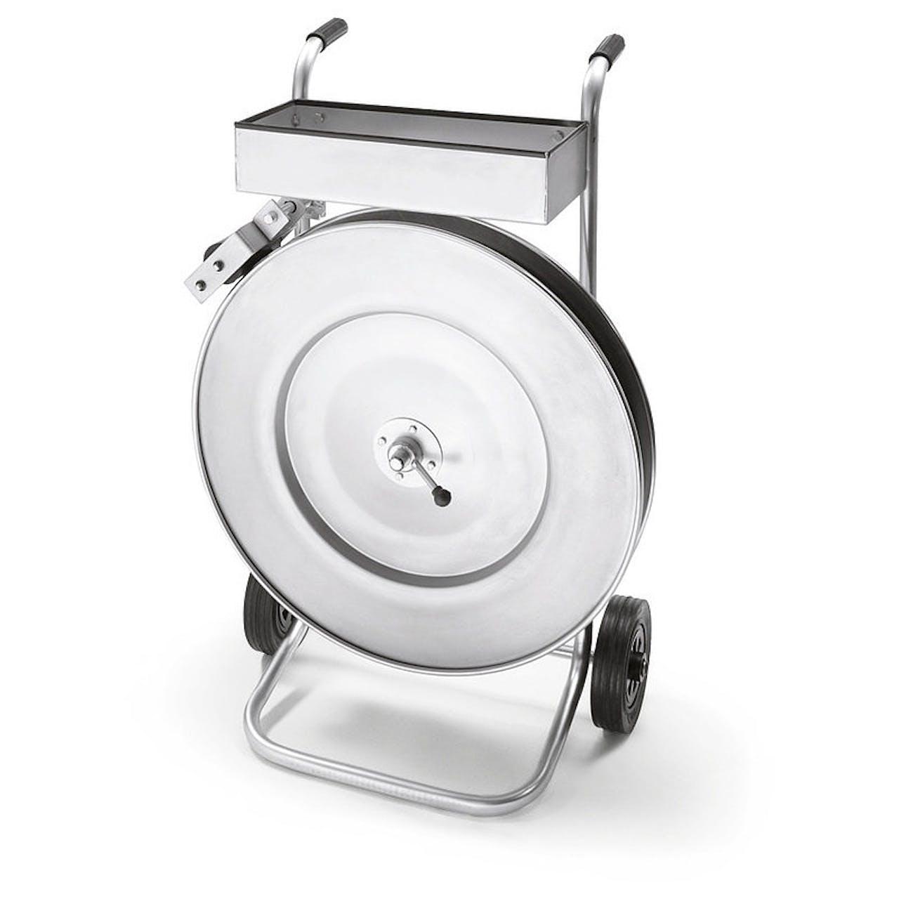 Abroller für Stahlband in Packenwicklung stba-p