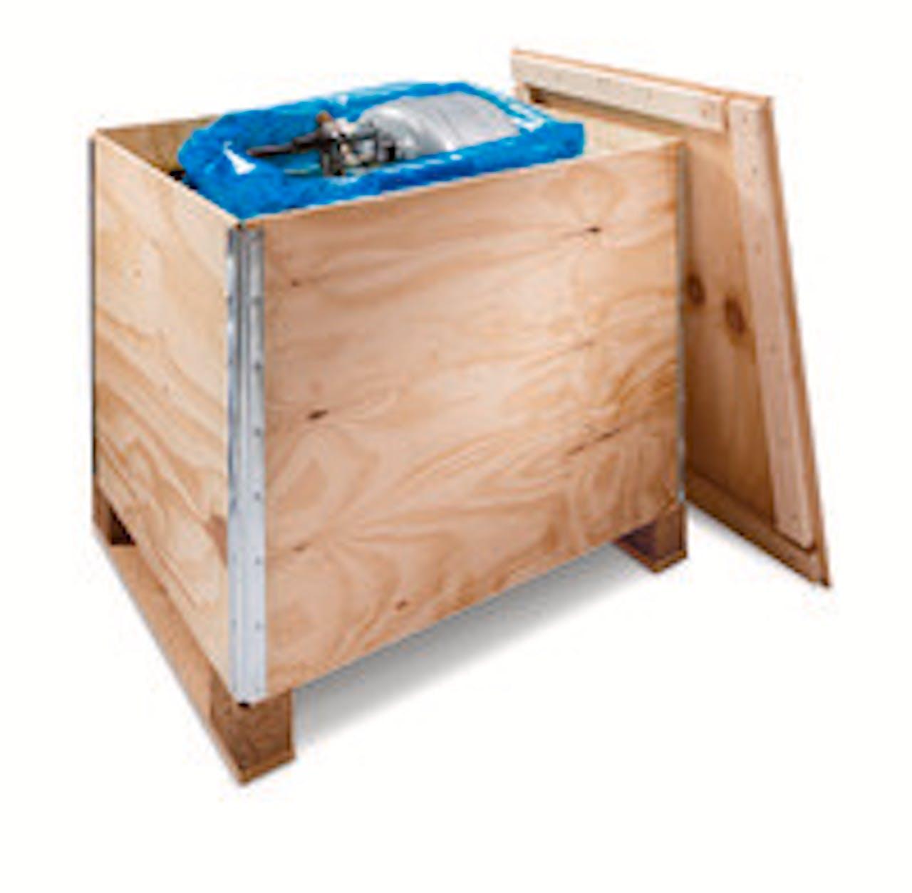 Premium Holzfaltkiste