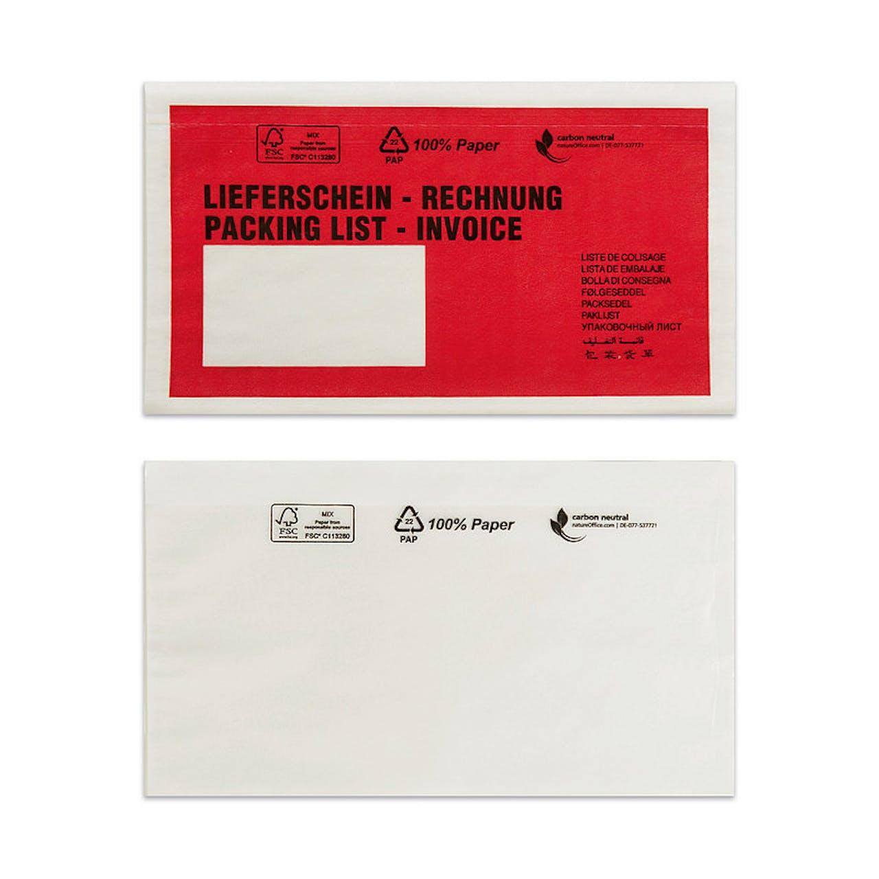 Dokumententasche Papier