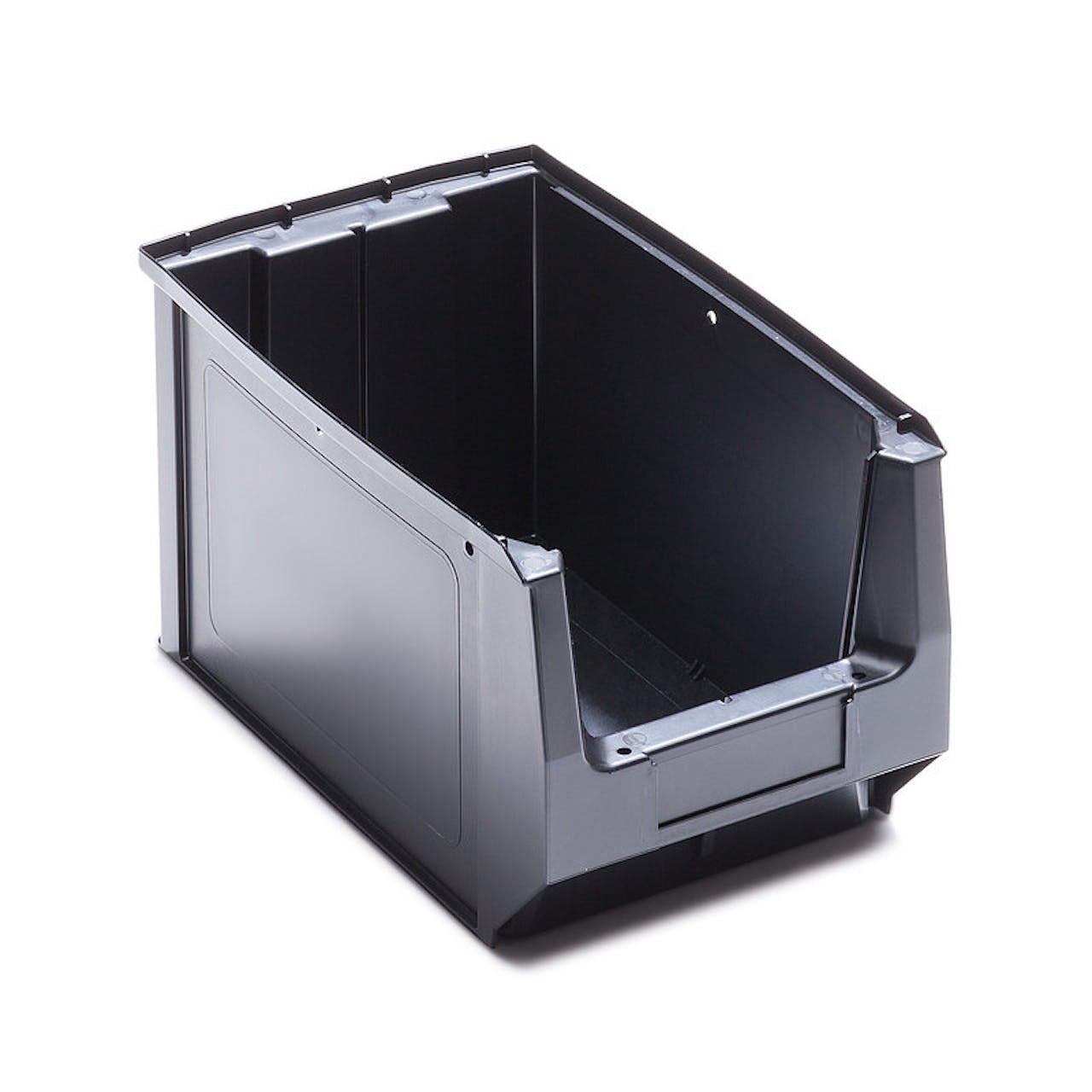 ESD-Sichtlagerkasten aus Kunststoff
