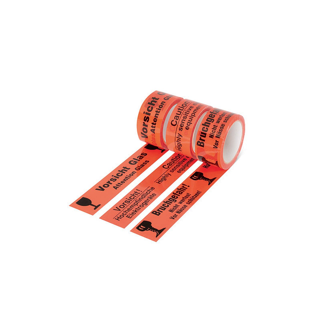 SK-Warnband (PP), 50 mm Rollenbreite