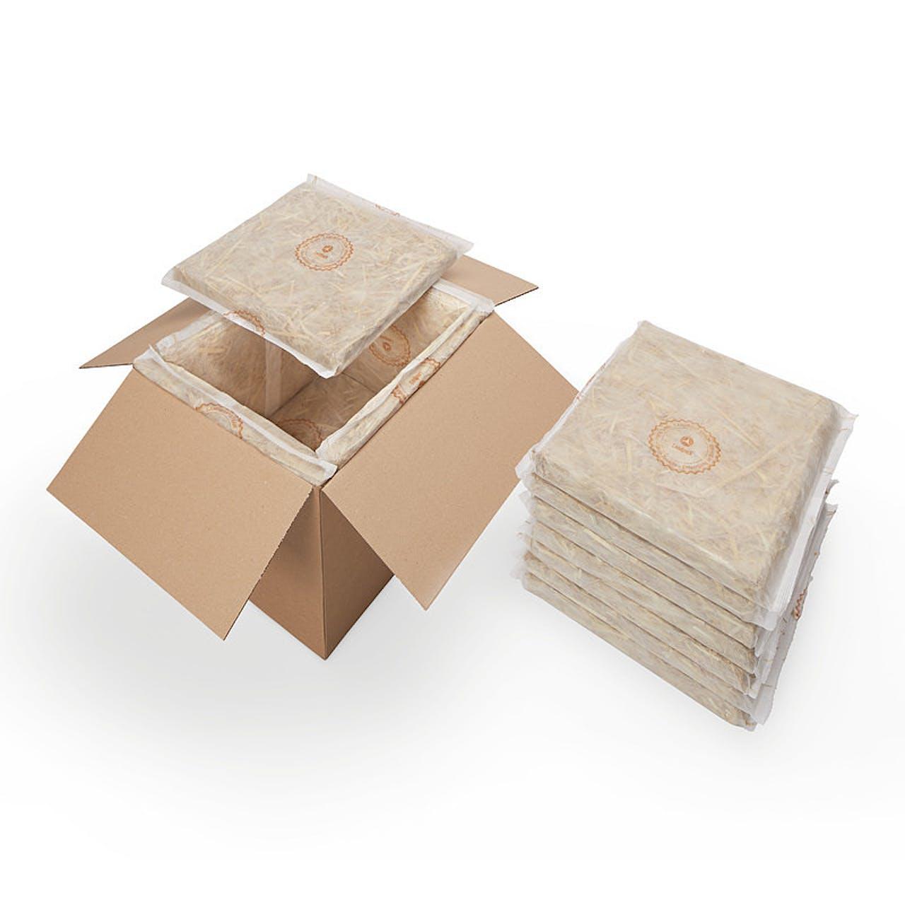 Thermobox aus Stroh - Landbox®