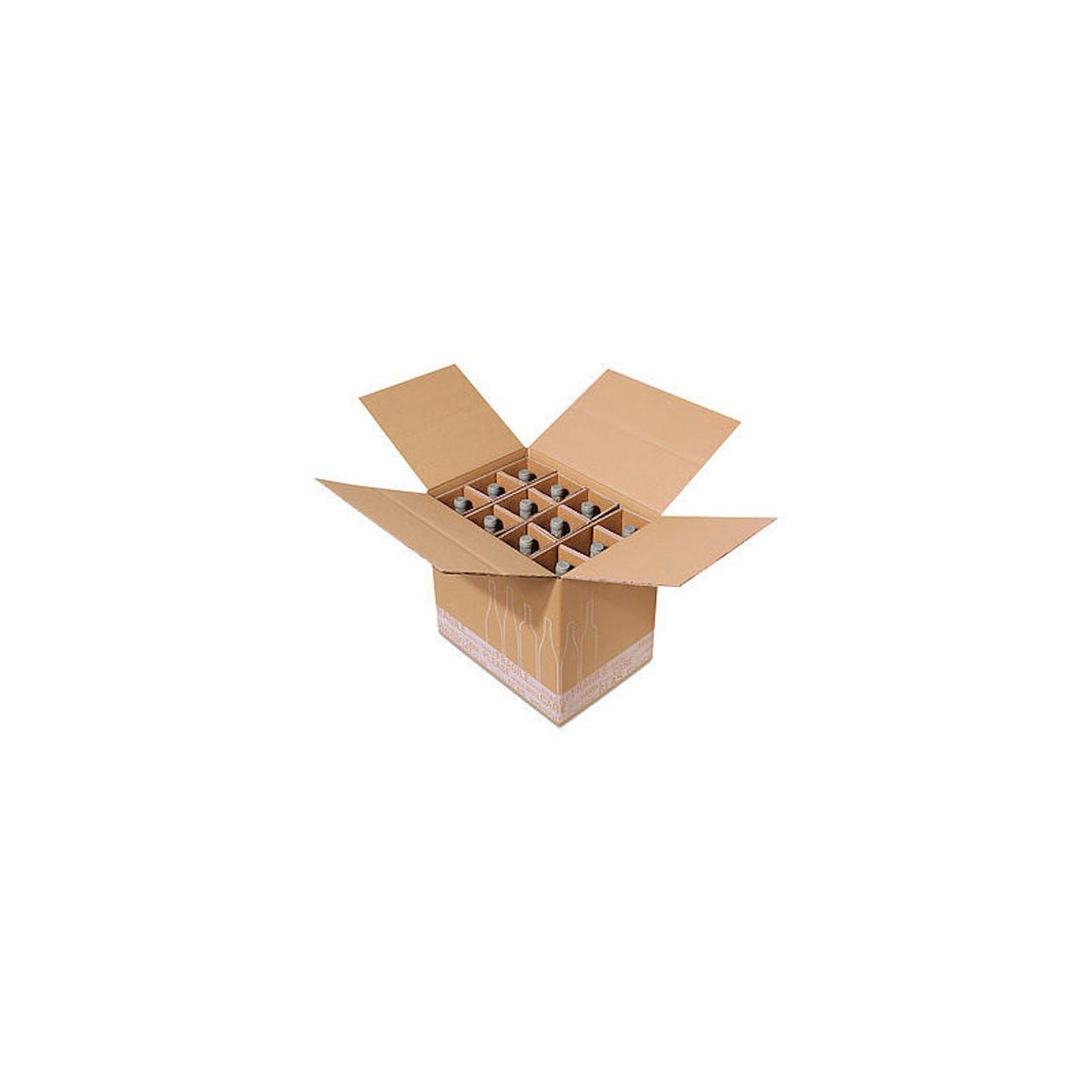 Flaschenkarton Post/DHL