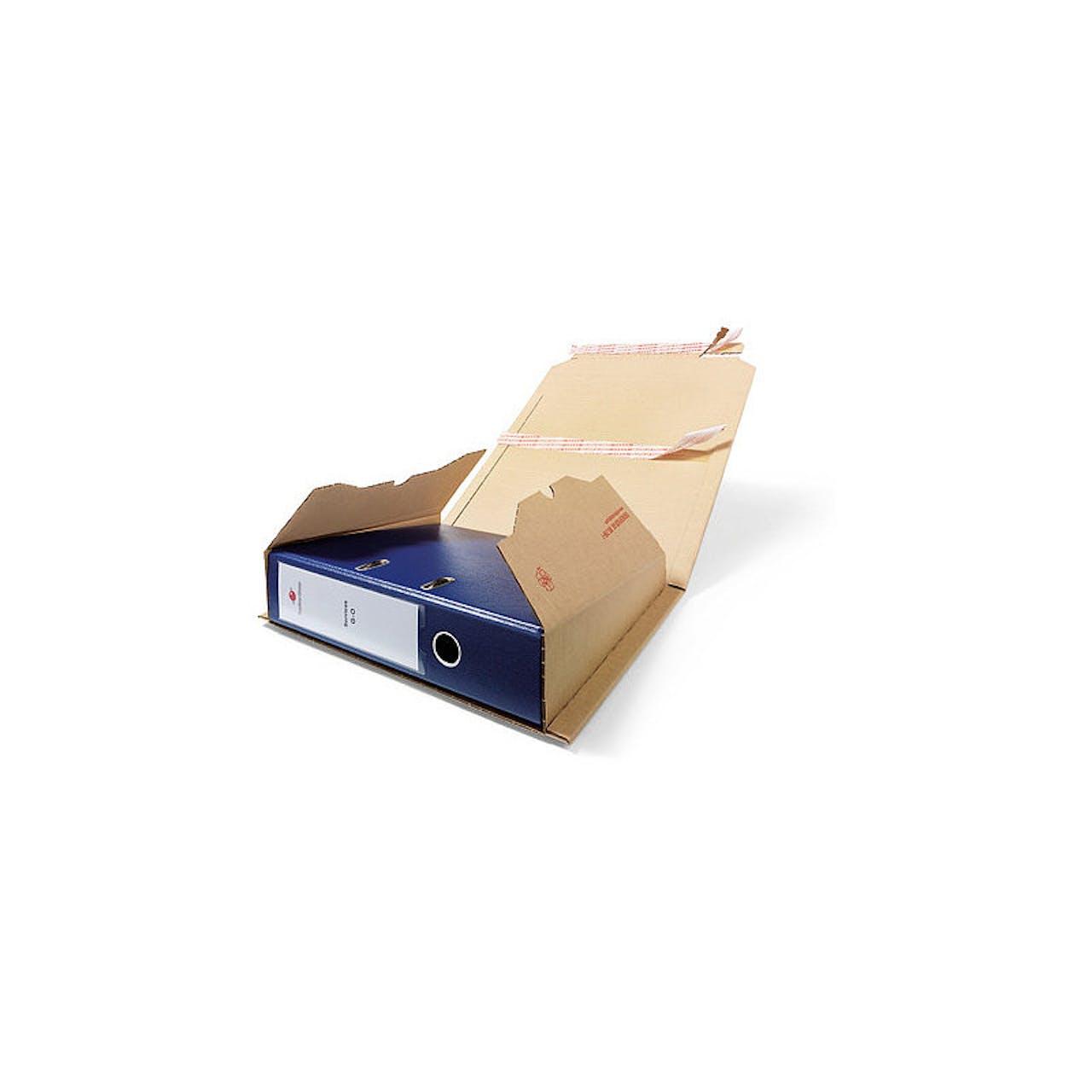 Ordner-Pack, mit Selbstklebeverschluss