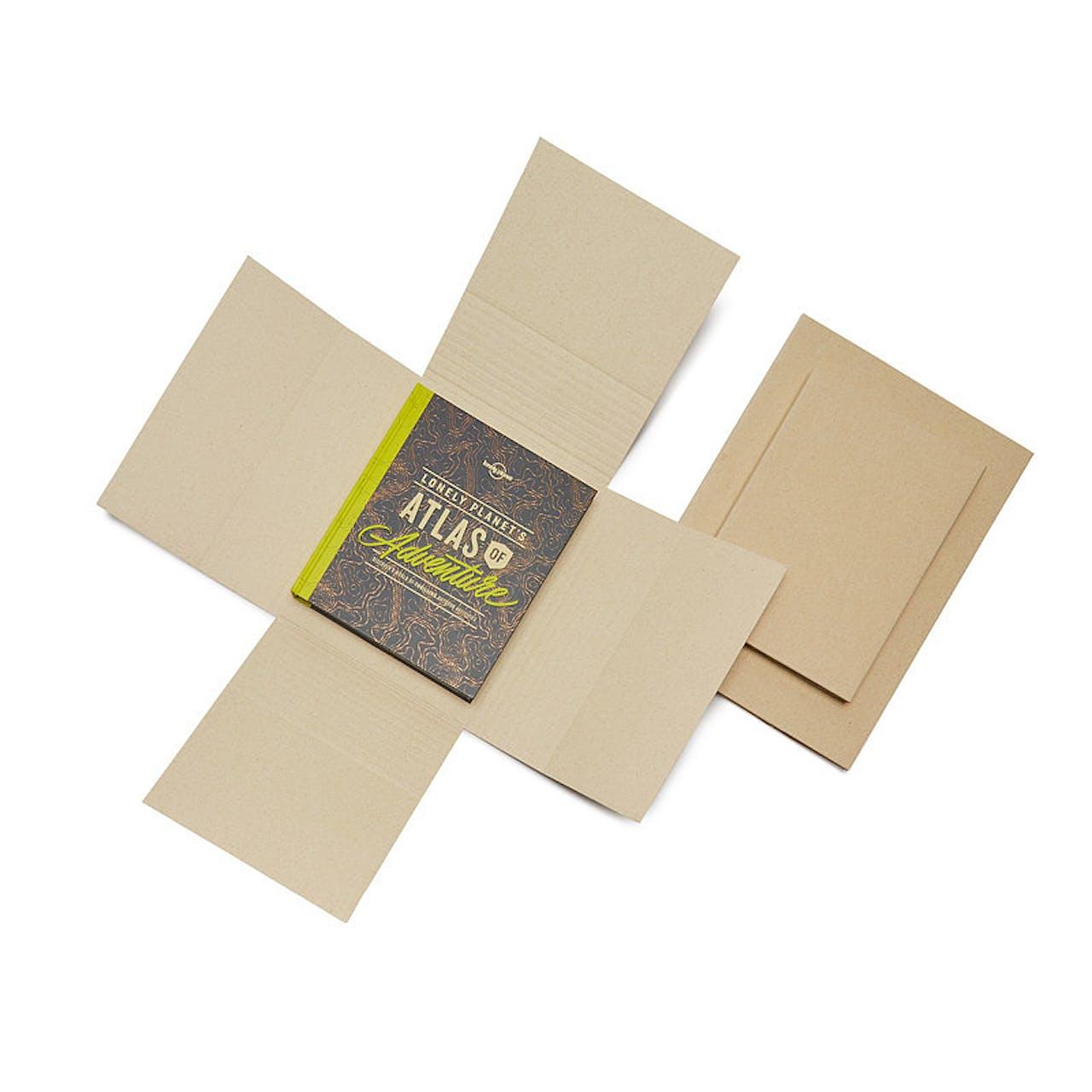Graspapier-Kreuzverpackung