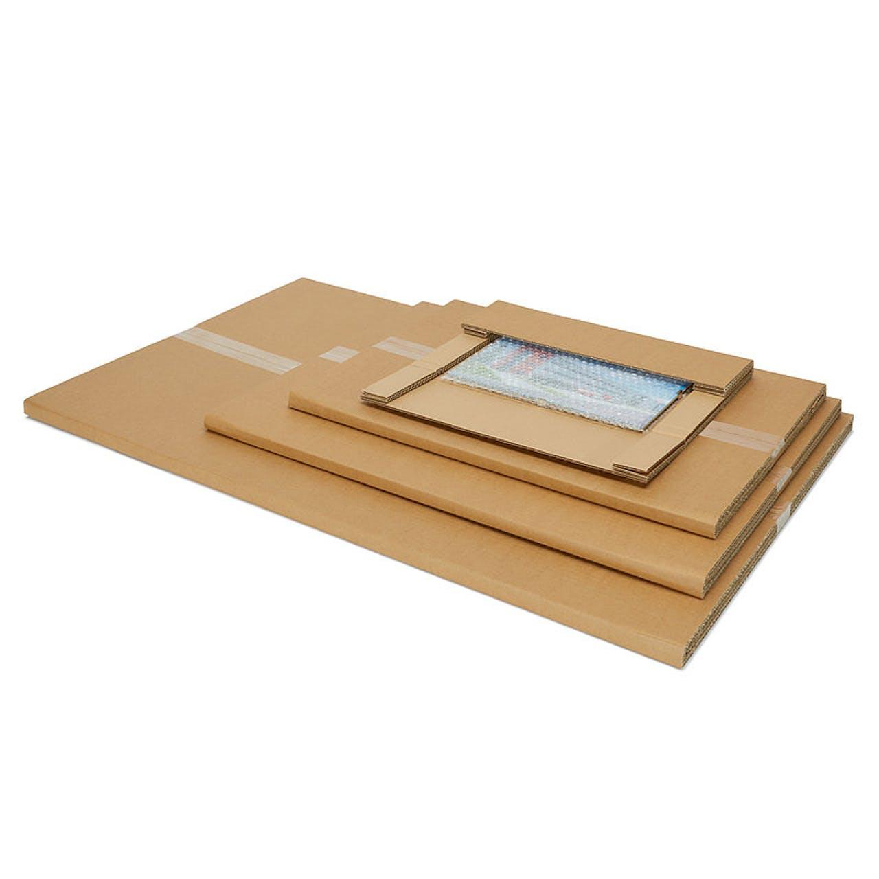 Bilderverpackung, 930 x 630 x 16 mm, 648 g, 1-wellig