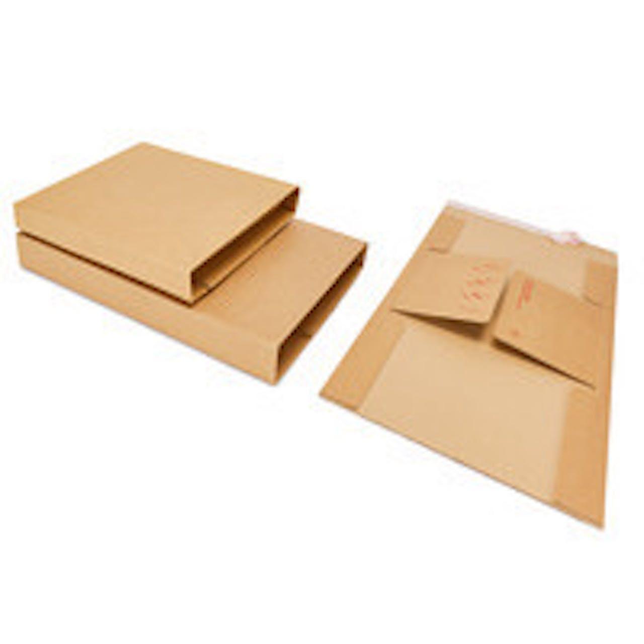 Buchverpackung Variofix