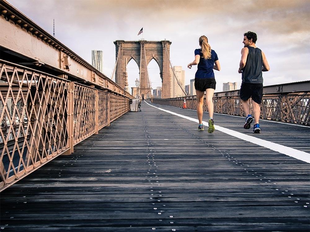 Laufen in New York