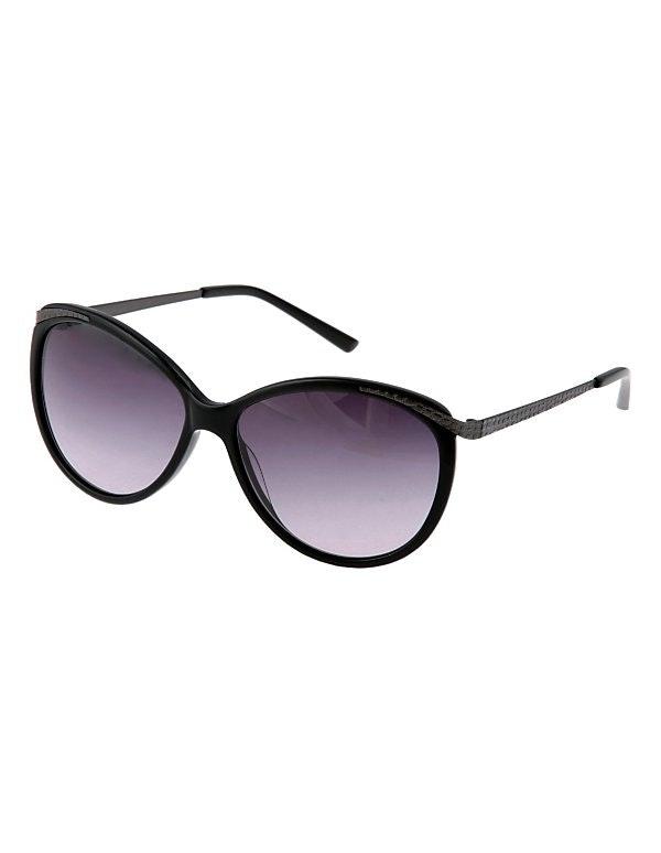 Sonnenbrille mit Gläsern im Farbverlauf
