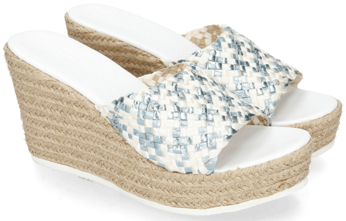 Abby 1 Woven Satin Light Blue