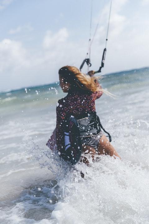 kite, surfen, barbados