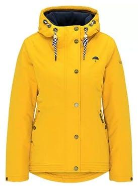 Schmuddelwedda Regenjacke gelb