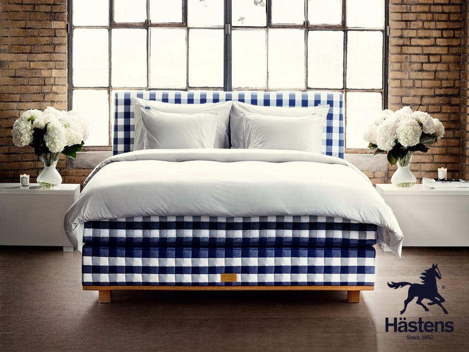 """Das beste Bett der Welt """"Vividus"""" von Hästens."""