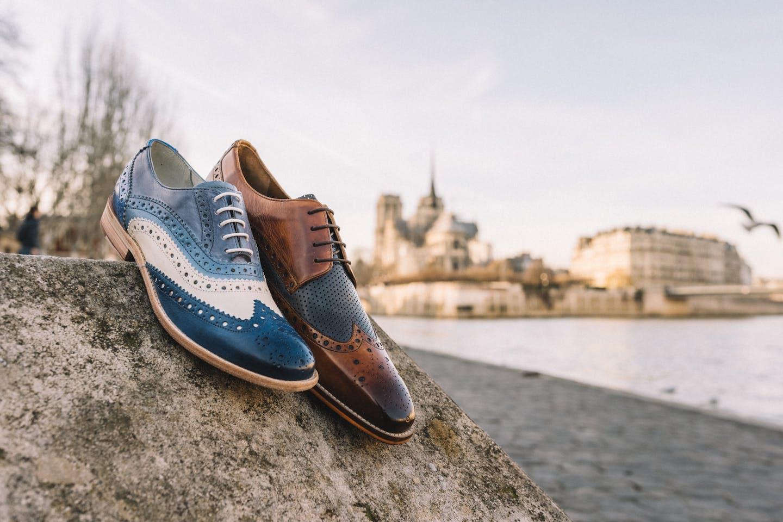 Différence derbies richelieus chaussures de ville à lacets