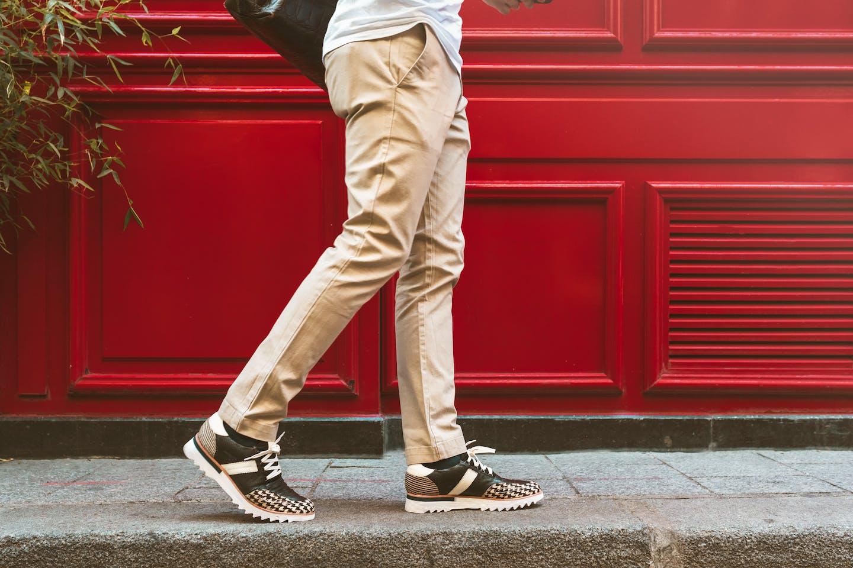 Sneakers aus Leder von Melvin & Hamilton