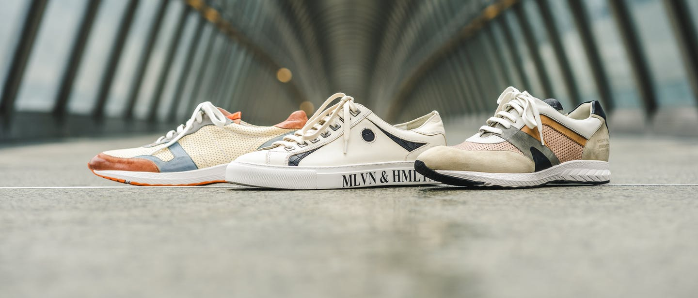 Skórzane sneakersy Melvin & Hamilton