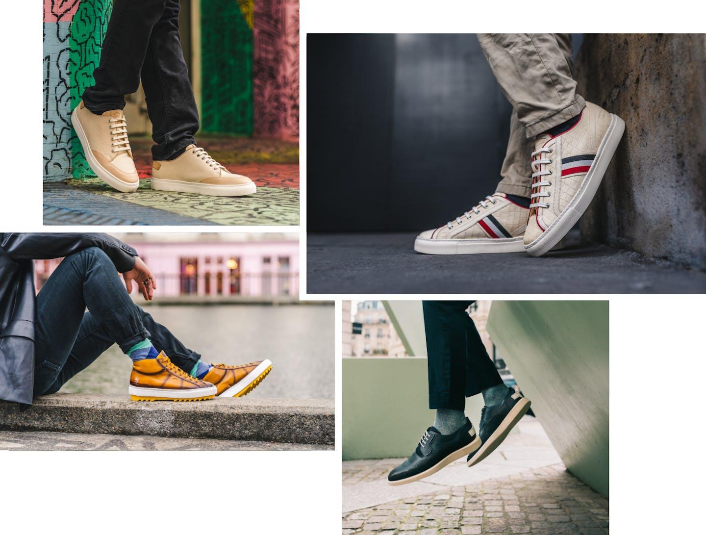Sneakers en cuir Melvin & Hamilton
