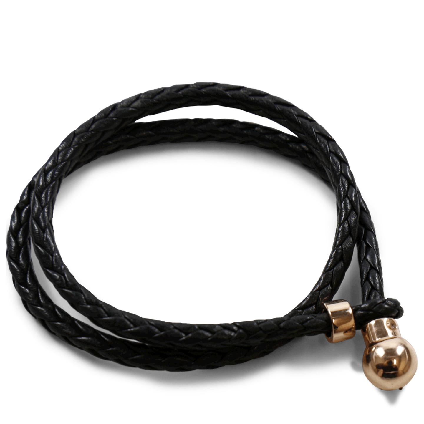 Caro 2 Woven Black Accessory Rose Gold