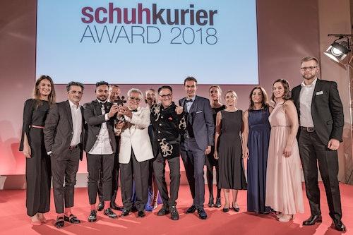 Schuhkurier Award 2018 pour Melvin & Hamilton