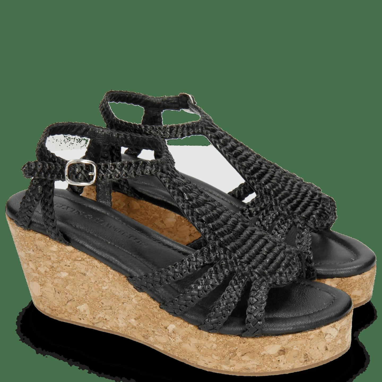 Hanna 55 Woven Black Cork