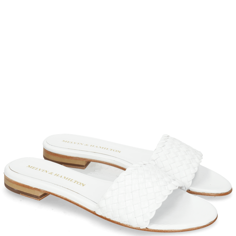 Hanna 26 Woven White LS