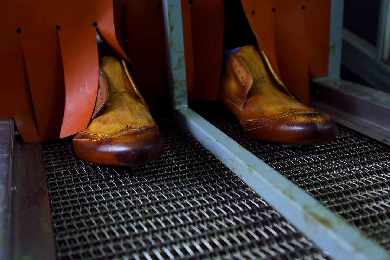 Chaussures Melvin & Hamilton au cuir tanné végétal