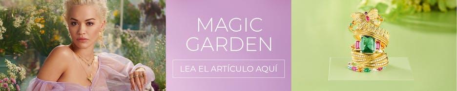 Magic Garden: Descubra el mundo sensual y femenino de la joyería