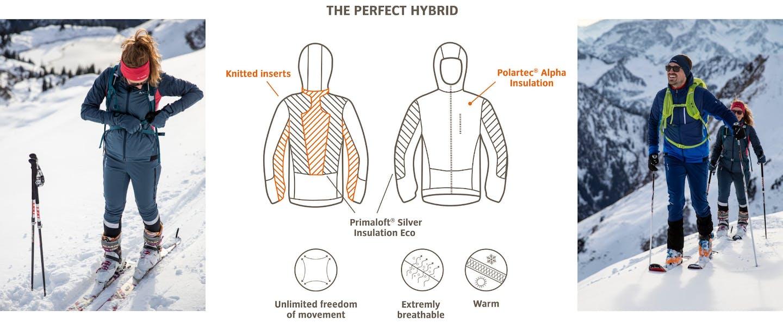 Vaude Sesvenna Pro Hybridjacke