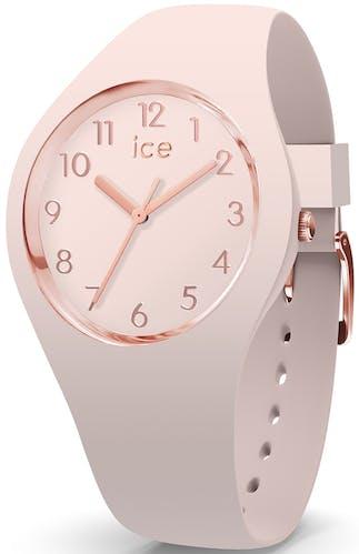 Cette montre ICE-WATCH se compose d'un boîtier Rond de 34 mm et d'un bracelet en Silicone Rose  -