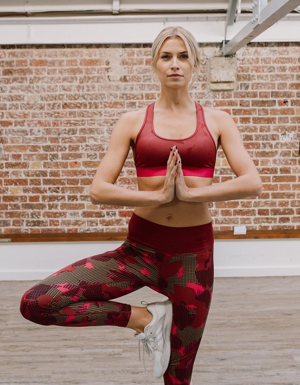Lena Gercke liebt Yoga