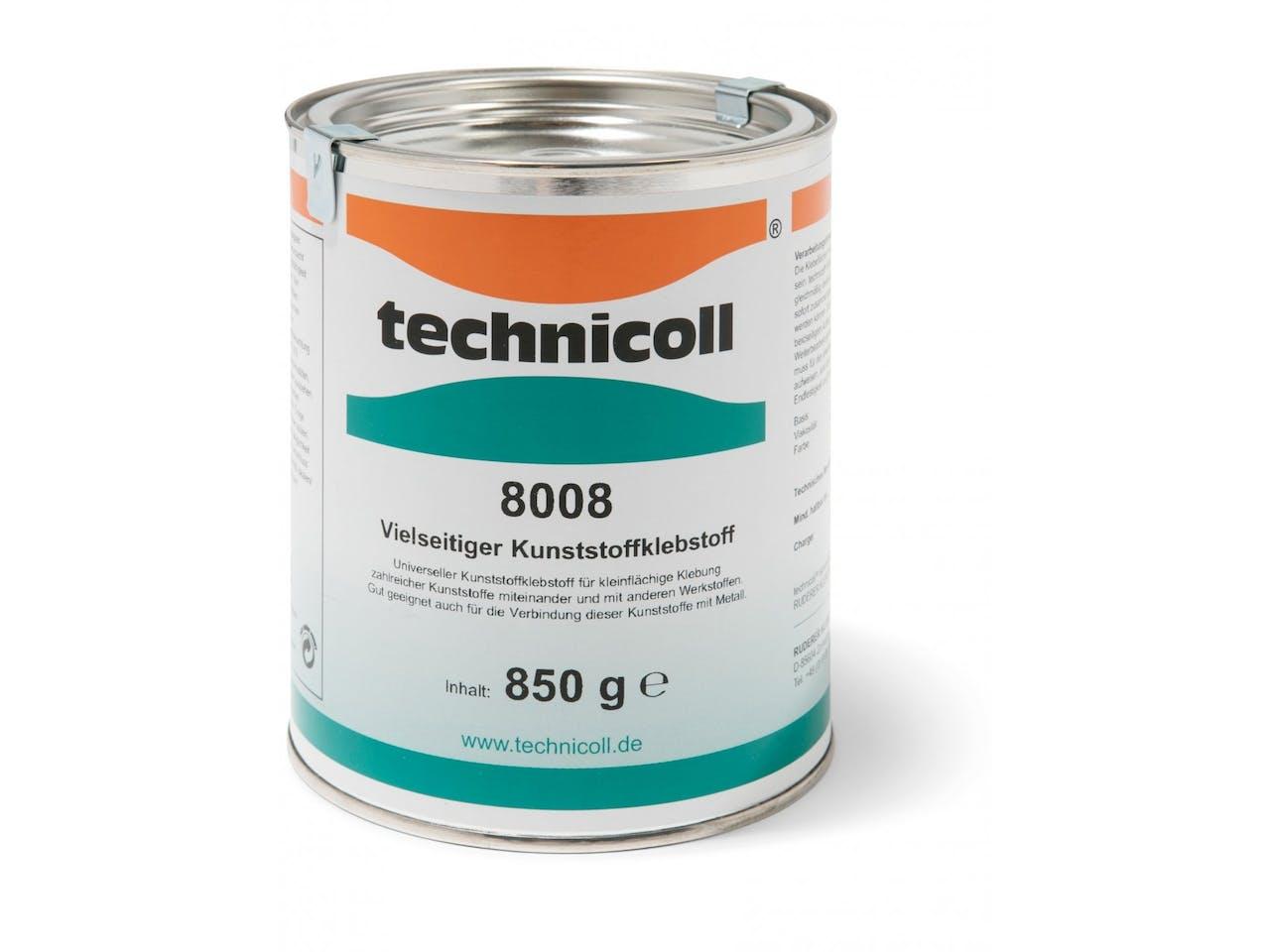 Kunststoff-Kleber, Technicoll 8008, Dose 850 g