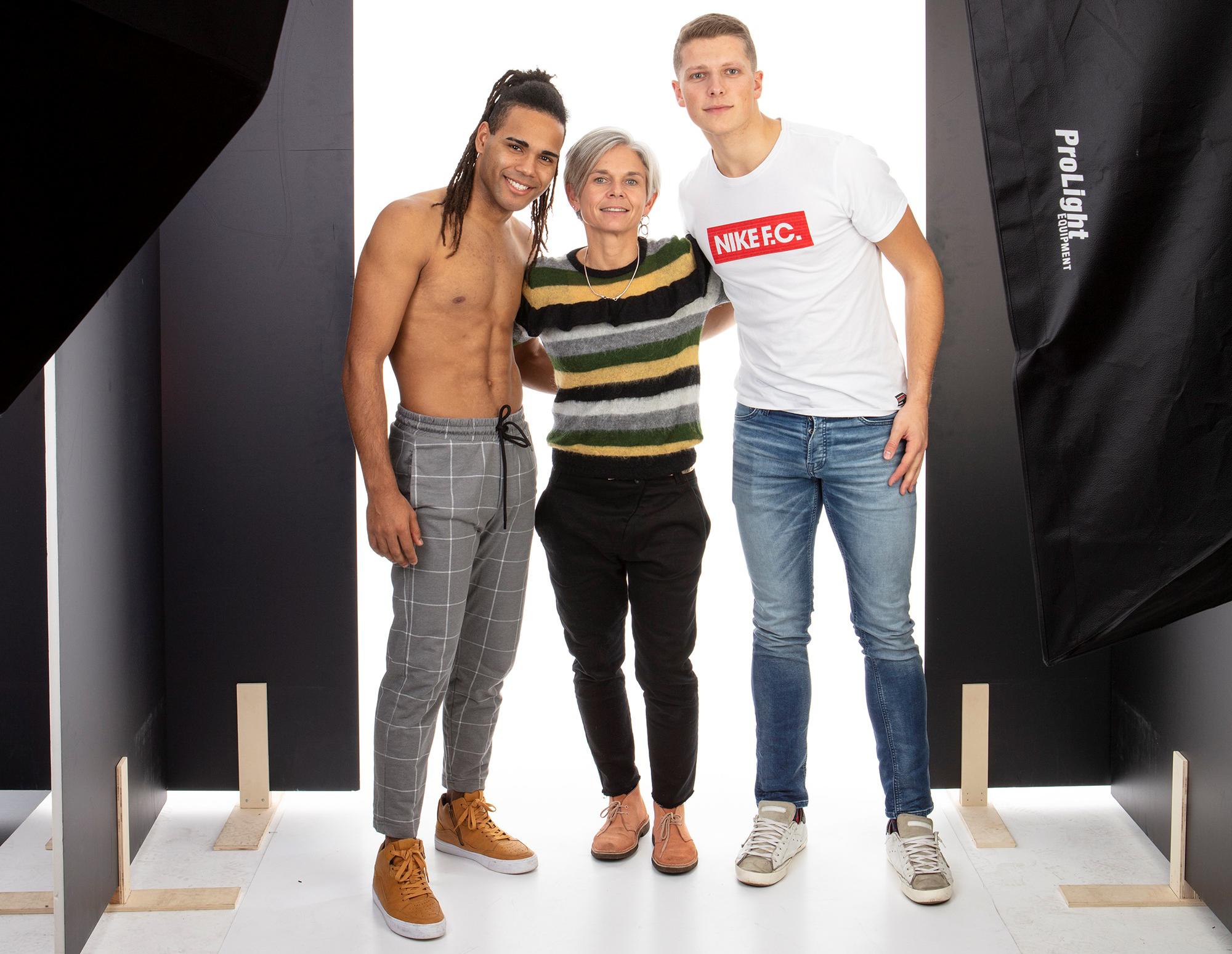 foto shooting nike sportswear collection making of