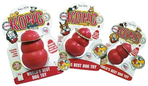 Kong - Hundespielzeug - Classic Rot-M