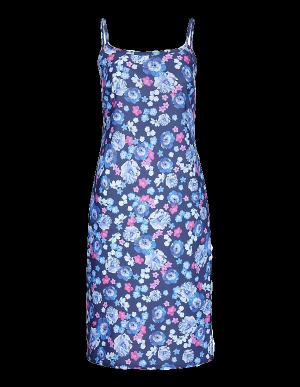 Strandkleid mit frischem Unikatprint