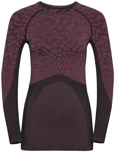 Odlo Blackcomb Suw Top Crew Neck - Funktionsshirt Langarm - Damen