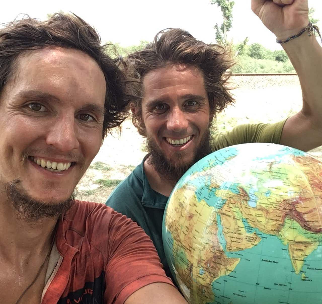 Julian und Nico von den Pasta Gorillas